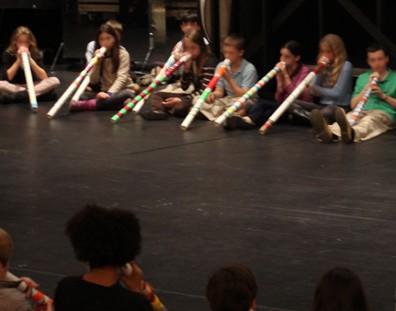 Learn to play didgeridoo in a fun group setting