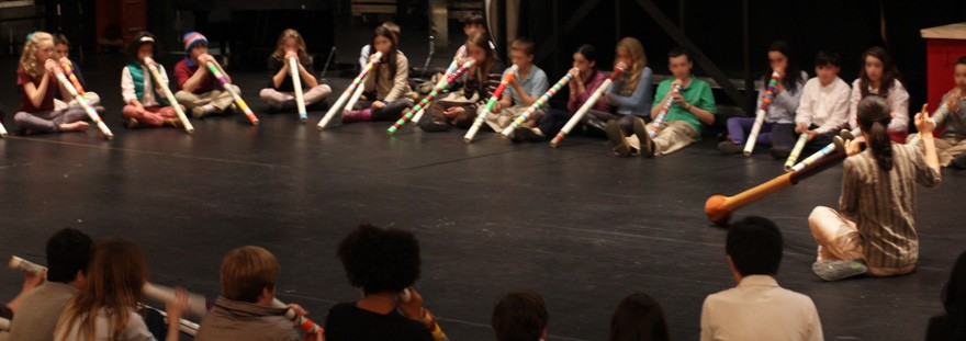 Make And Play Didgeridoo Workshop For Kids Didge Project