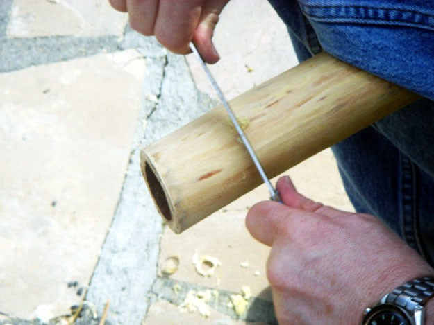 didgeridoo eucalyptus making workshop with lewis burns