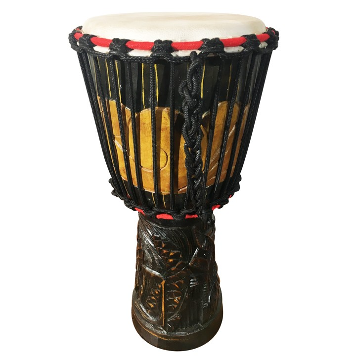 hand carved djembe african hand drum