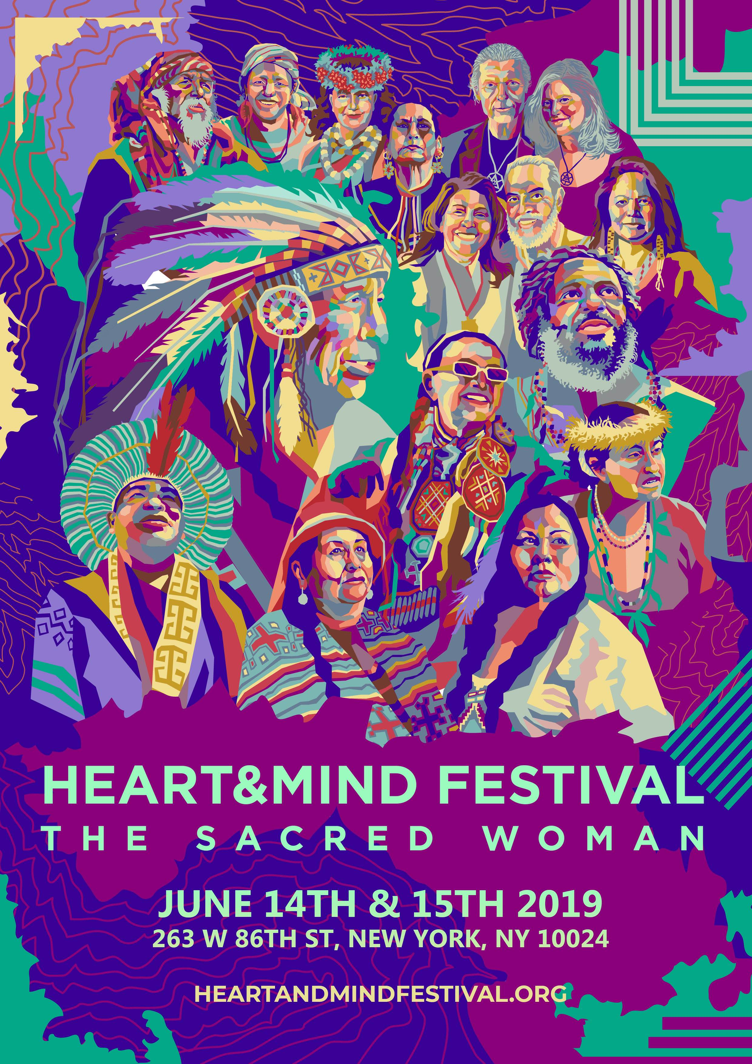 Heart and Mind Festival presents: The Sacred Woman, June 14
