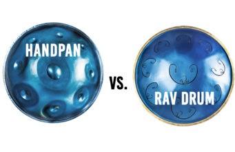 handpan vs rav drum identical scale comparison