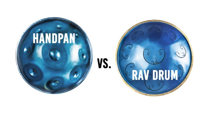 handpan vs rav drum identical scale comparison